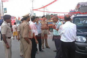 High security alert before NERCPA at Agartala. TIWN Pic May 29